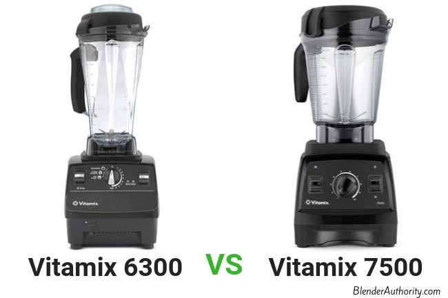 Vitamix 6300 vs 7500 comparison