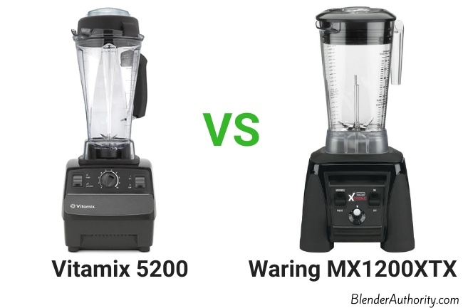 Waring mx1000xtx vs Vitamix 5200