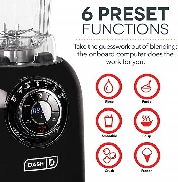 Chef Series Digital blender controls