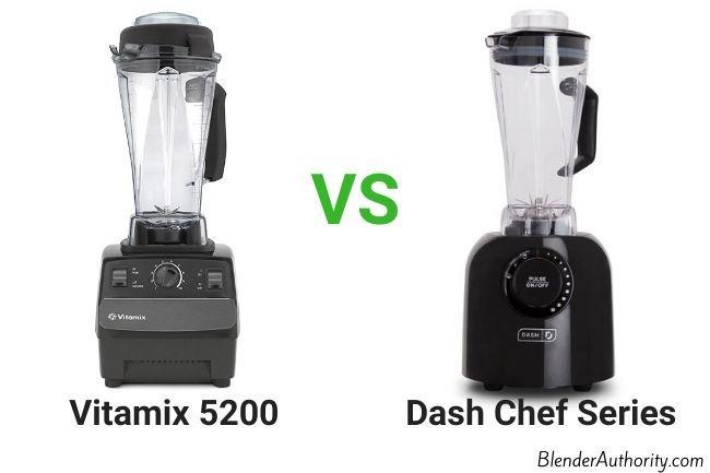 Dash Chef Blender vs Vitamix