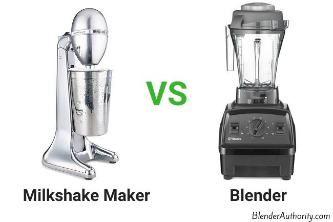 Milkshake Maker vs Blender Comparison