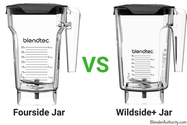Blendtec Fourside vs Wildside Jars