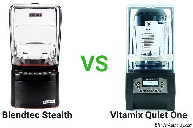Vitamix Quiet One vs Blendtec Stealth