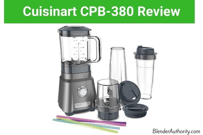 Cuisinart CPB-380 Hurricane Compact Juicing Blender Review