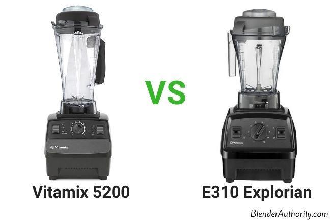 Vitamix E310 vs 5200 blender