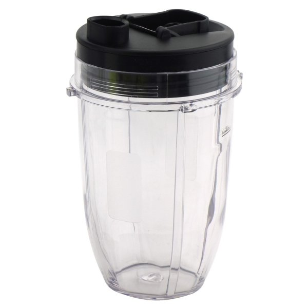 18 oz Cup with Spout Lid Replacement for Nutri Ninja BlendMax DUO with Auto-iQ Boost, Parts 427KKU450 528KKUN100