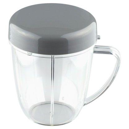 18 oz Handled Short Cup w/ Stay Fresh Lid for NutriBullet NB-101