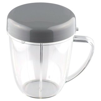 18 oz Handled Short Cup Includes Lid For NutriBullet NB-101