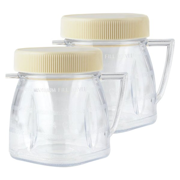 2 Pack Oster 1-Cup Mini-Blend Jar for Oster Blenders Part # 4937