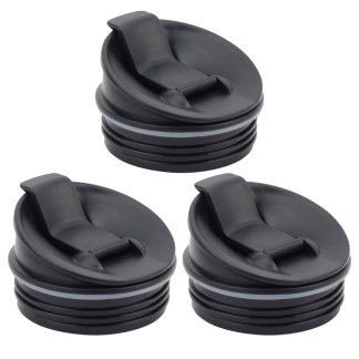3 Pack Nutri Ninja Sip & Seal Lid for BL660 BL660W BL740 BL810 BL820 BL830 Model 356KKU800