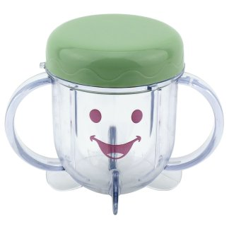 Baby Bullet Short Cup Replacement Includes Stay Fresh Lid