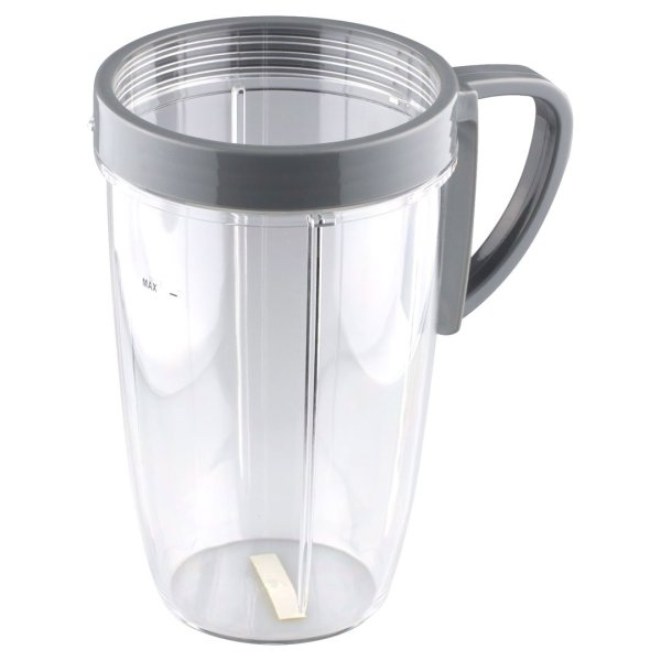 NutriBullet 24 oz Tall Cup with 1 Handled Comfort Lip Ring