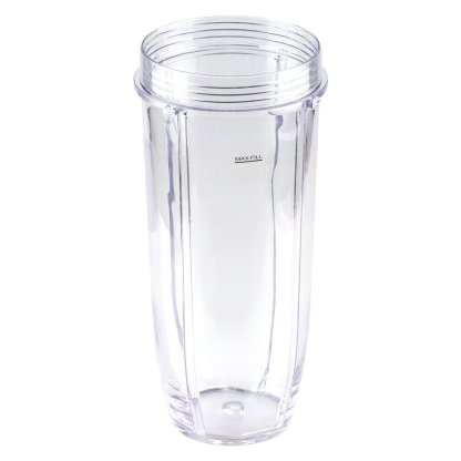 32 oz Cup with Spout Lid Replacement for Nutri Ninja BlendMax DUO with Auto-iQ Boost, Parts 407KKU641 528KKUN100
