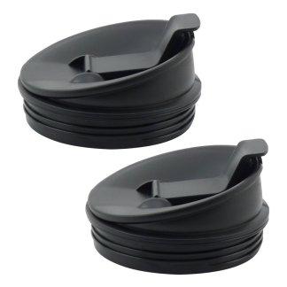 2 Pack Nutri Ninja Sip & Seal Lids Replacement Model 408KKU641 for BL480 BL490 BL640 & BL680 Auto IQ Series