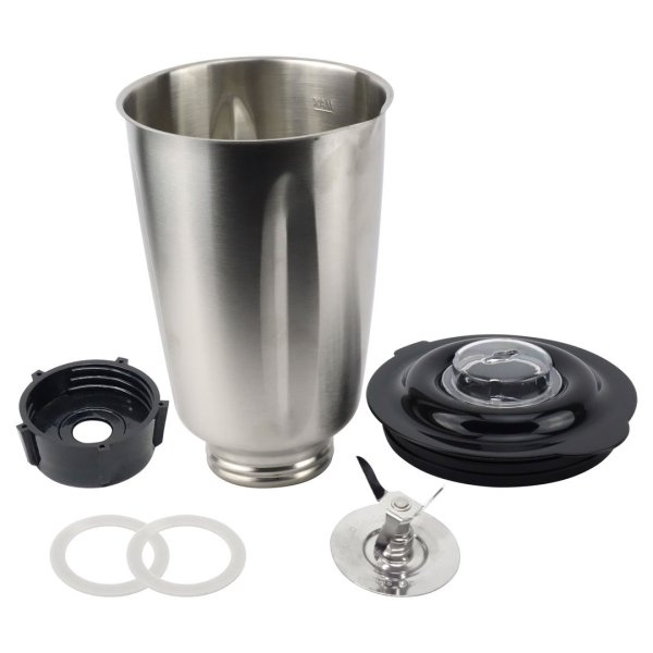 Oster 6-Cup Stainless Steel Jar No Handle Combo Set