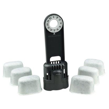 Keurig Water Filter Holder + 6 Charcoal Water Filters