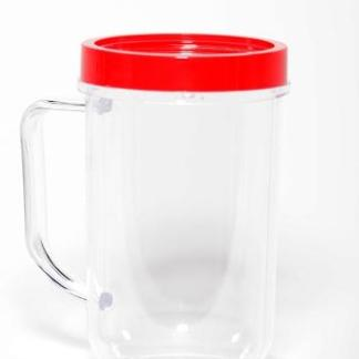Magic Bullet Party Cup Mug Red