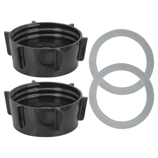 2 Pack 4902 Blender Jar Base Includes Gasket Replacement Part Compatible with Oster Blenders