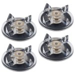 4 Pack Base Gear Replacement Part Compatible with Magic Bullet 250W Blenders MB1001