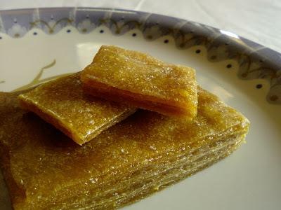 Mamidi Tandra ~ Dried Mango Pulp