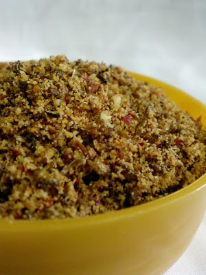 Chintha Chiguru Podi ~ Spicy Tender Tamarind Leaves Powder