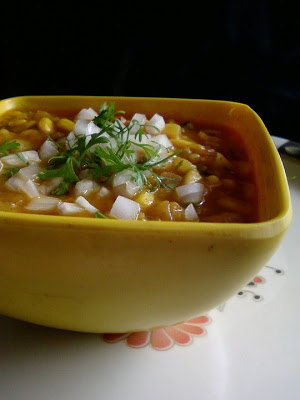 Corn Ragda Chat