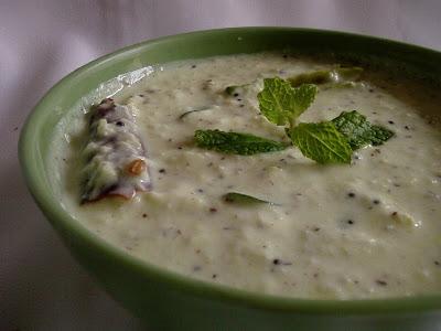 Kobbari Perugu Pachadi ~ Coconut Yogurt Chutney