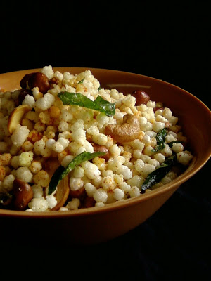 Saggubiyyam Mixture ~ Sabudana Chivda