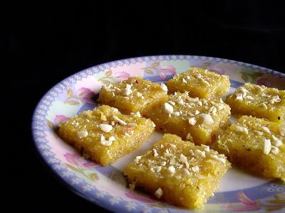 Sweet Corn Burfi
