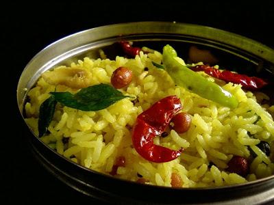 Mango Rice with Amchur Powder