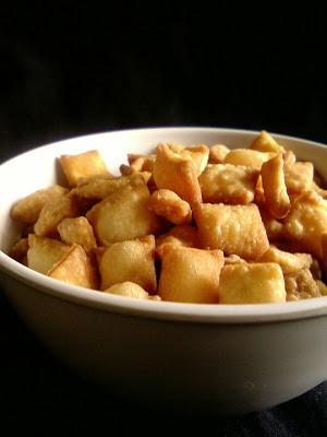 Crunchy Mango Diamond Cuts