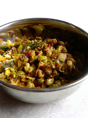 Dondakaya Ulli Karam ~ Tindora Curry with Spiced Onion