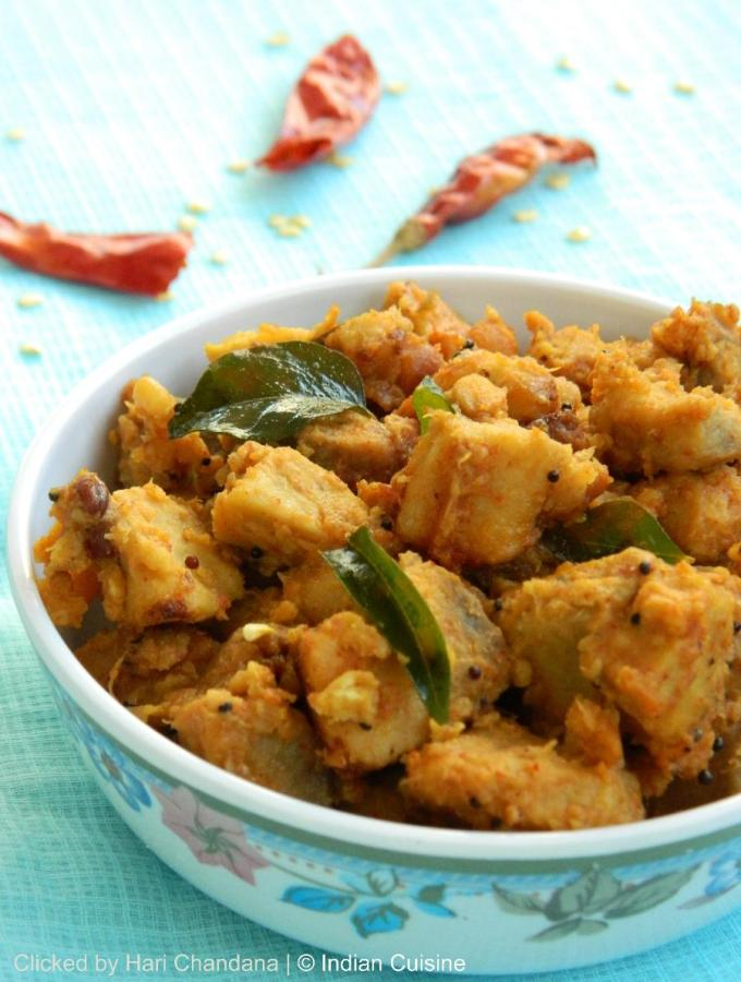 Sweet and Sour Elephant Yam Curry Recipe
