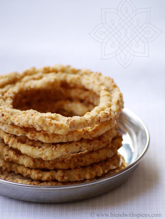 Sakinalu Recipe with Video – How to Make Chakinalu – Traditional Sankranti Recipes – Step by Step Recipe