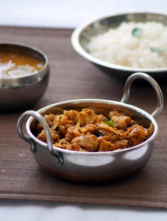 Kanda Kura ~ Elephant Yam Curry Recipe