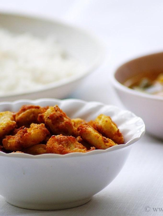 Chama Dumpa Fry ~ Seppankizhangu Varuval ~ Taro Root Fry