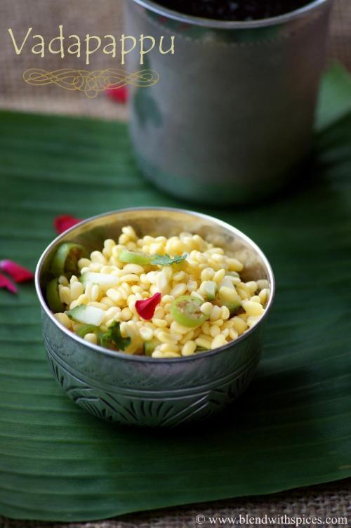 vada pappu, how to make vadapappu, how to prepare vada pappu, vada pappu recipe, sri rama navami special recipes
