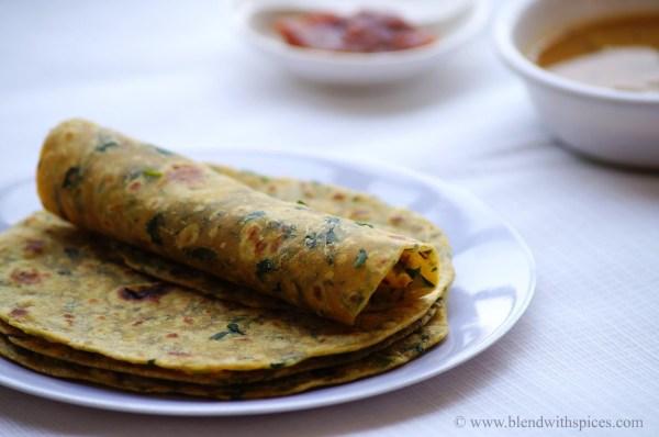 how to make methi paratha, methi paratha recipe, fenugreek paratha recipe, paratha recipes