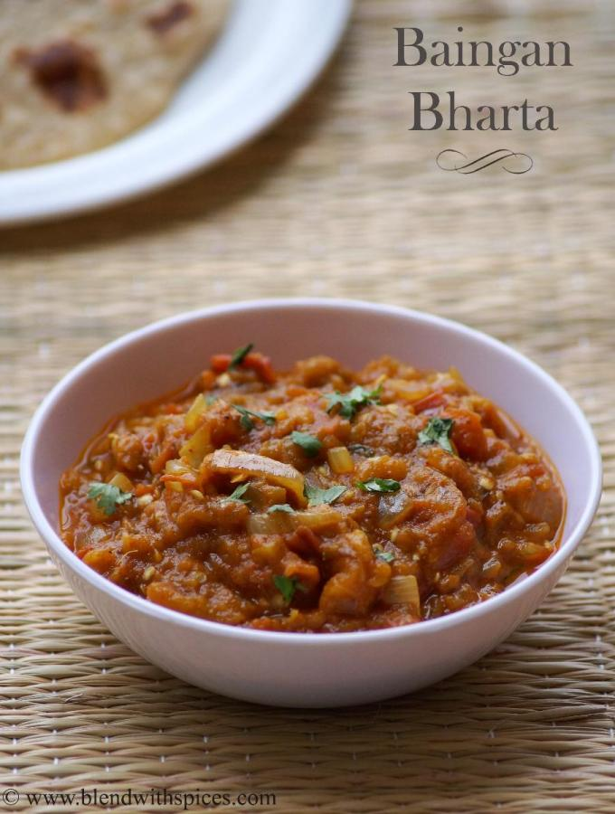Baingan Bharta Recipe – How to make Punjabi Baingan Bharta Recipe