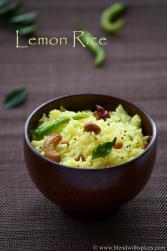 lemon rice, south indian lemon rice, nimmakaya pulihora, pulihora recipes
