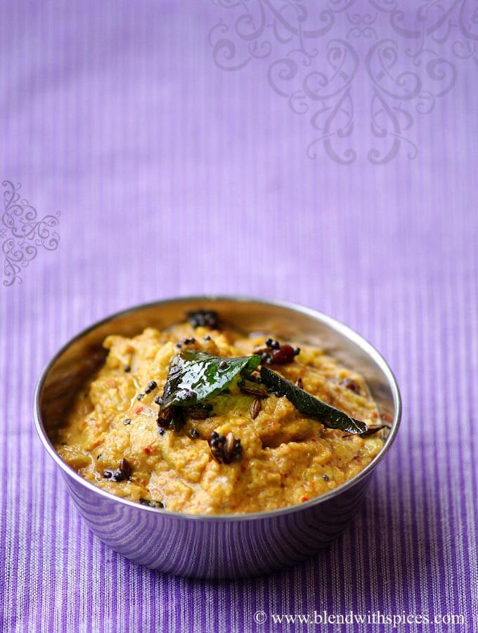 Potlakaya Nuvvula Pachadi Recipe – Snake Gourd Sesame Chutney Recipe