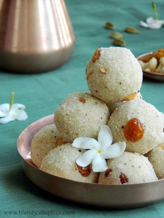 Rava Laddu / Rava Ladoo ~ Festival Special Recipes