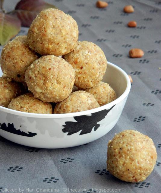 Peanut Laddu Recipe – Verusenagapappu Undalu