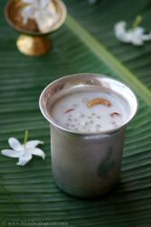 saggubiyyam payasam recipe, easy prasadam recipes for vinayaka chavithi, ganesh chaturthi prasadam, sago kheer recipe