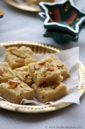 how to make 7 cup sweet, indian burfi recipes