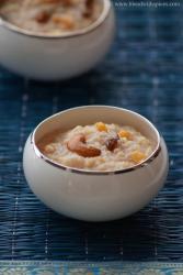 makar sankranti recipe, godhuma rava pongali, wheat sweet pongal recipe