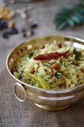 miriyala pulihora, pepper tamarind rice recipe