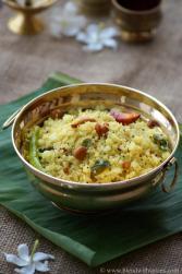 rava pulihora, how to make rava pulihora, pongal festival