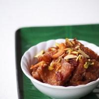 Double Ka Meetha Recipe - How to make Hyderabadi Double Ka Meetha Recipe - Ramadan Recipes