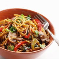 Lo Mein Recipe - How to Make Chinese Vegetable Lo Mein Noodles Recipe